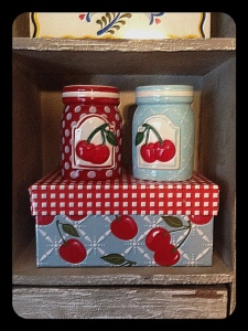 Cherries present